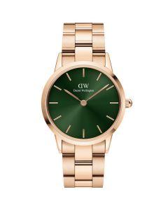 Daniel Wellington ADW00100421 - Fint dameur 28 MM Iconic Emerald Rose